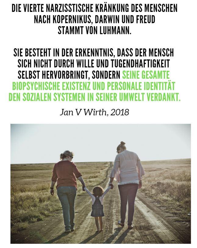 Luhmanns Kränkung des Menschen